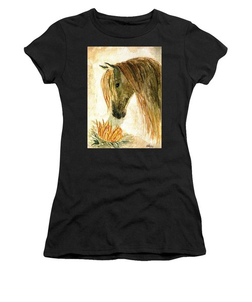 Greeting A Sunflower Women's T-Shirt