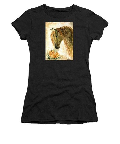 Greeting A Sunflower Women's T-Shirt