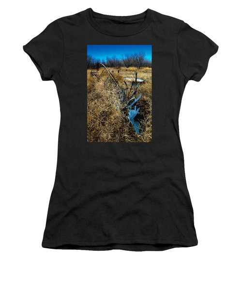 Grounded3-hdr Women's T-Shirt (Athletic Fit)