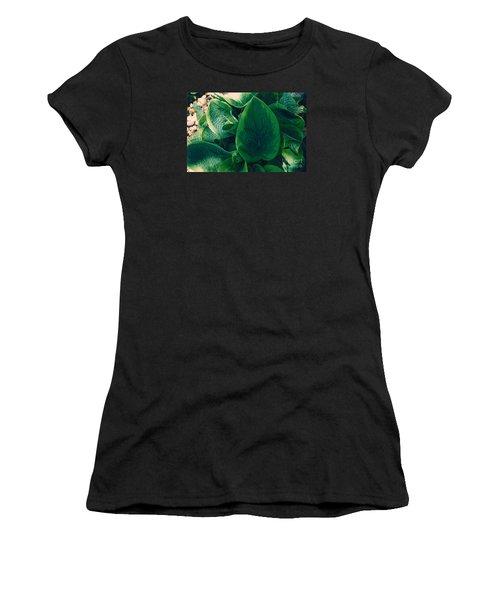 Guacamole Hosta Women's T-Shirt (Athletic Fit)
