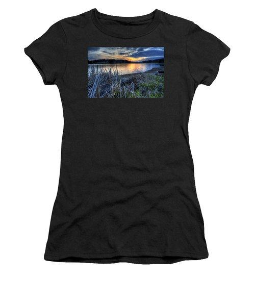 Guilford Lake Sunset Ohio Women's T-Shirt