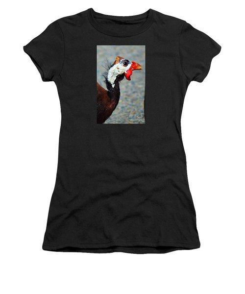 Guinea Hen Women's T-Shirt (Athletic Fit)
