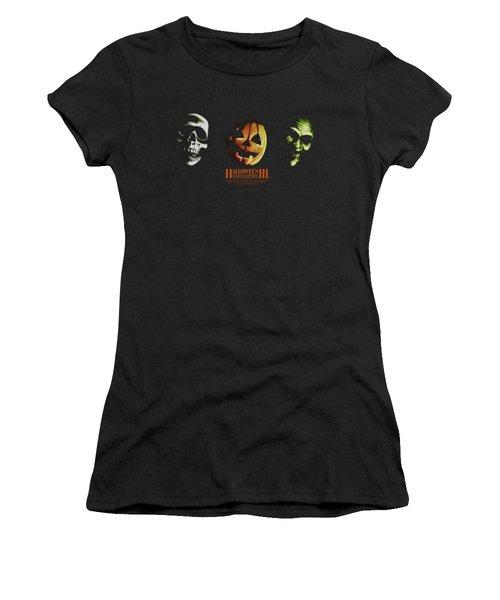 Halloween IIi - Three Masks Women's T-Shirt