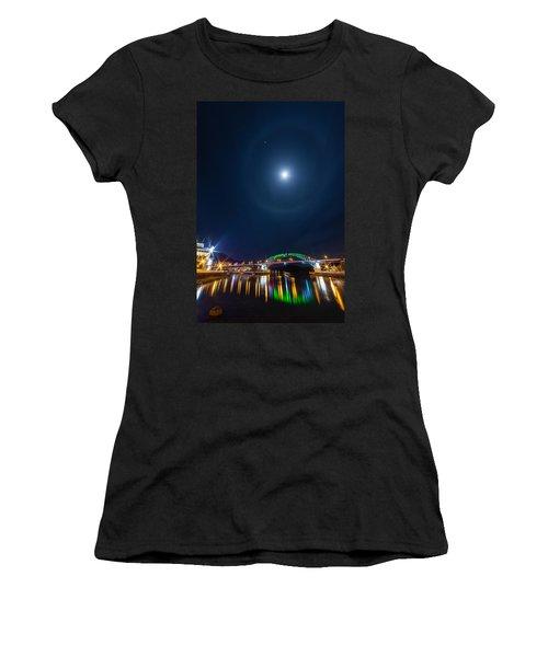 Halo Above The Bridge Women's T-Shirt (Athletic Fit)