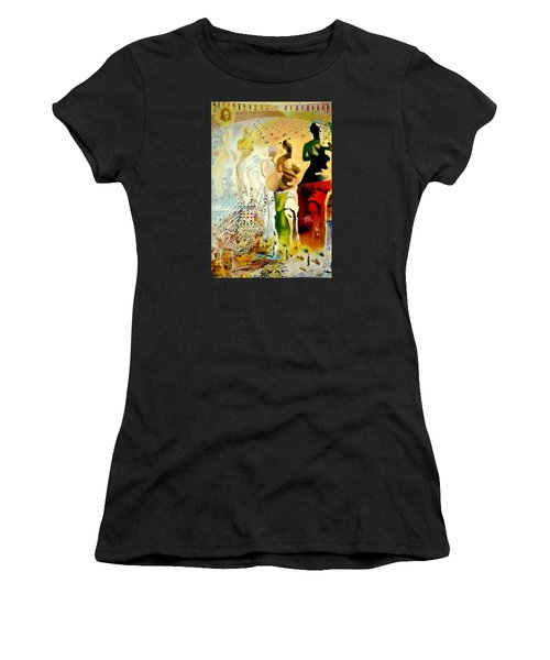 Halucinogenic Toreador By Salvador Dali Women's T-Shirt (Athletic Fit)