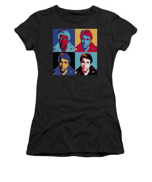 Happy Days - Fonz Pop Women's T-Shirt