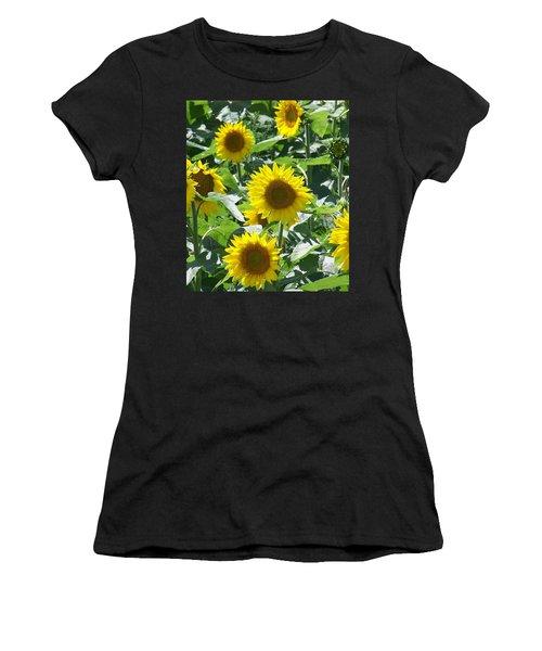 Happy Faces Women's T-Shirt (Athletic Fit)