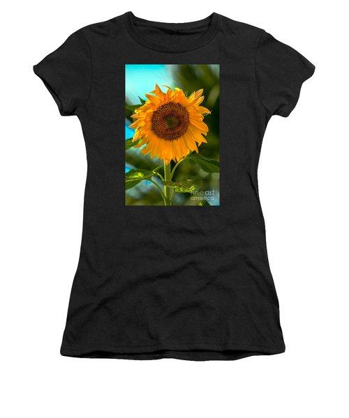 Happy Sunflower Women's T-Shirt