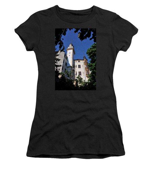 Hartenfels Castle - Torgau Germany Women's T-Shirt