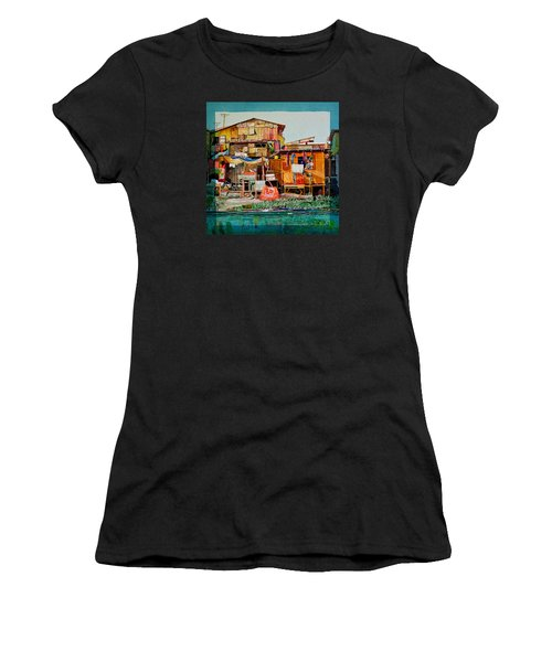 House Of Reused Building Materials Women's T-Shirt (Athletic Fit)