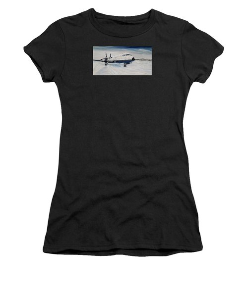Hawker - Waiting Out The Storm Women's T-Shirt (Athletic Fit)