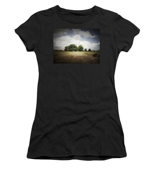 Haying At Angustown Women's T-Shirt (Athletic Fit)