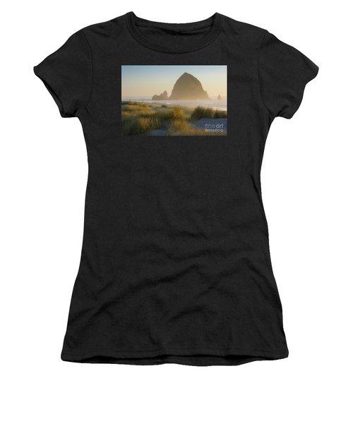 Haystack Sunset Women's T-Shirt