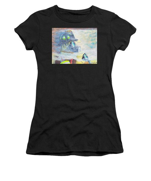 He Is At The Door Women's T-Shirt (Athletic Fit)