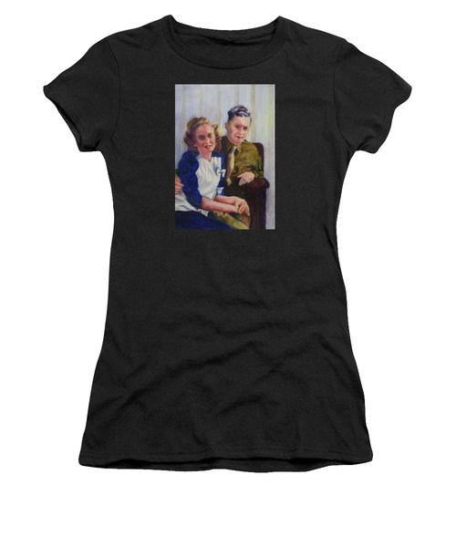 He Touched Me Women's T-Shirt (Athletic Fit)