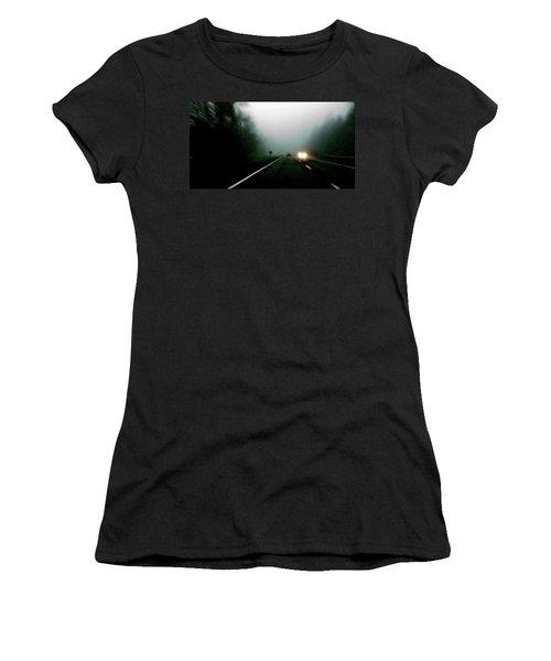 Headlights Women's T-Shirt (Athletic Fit)