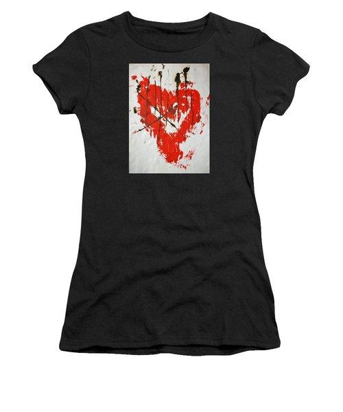 Heart Flash Women's T-Shirt (Athletic Fit)