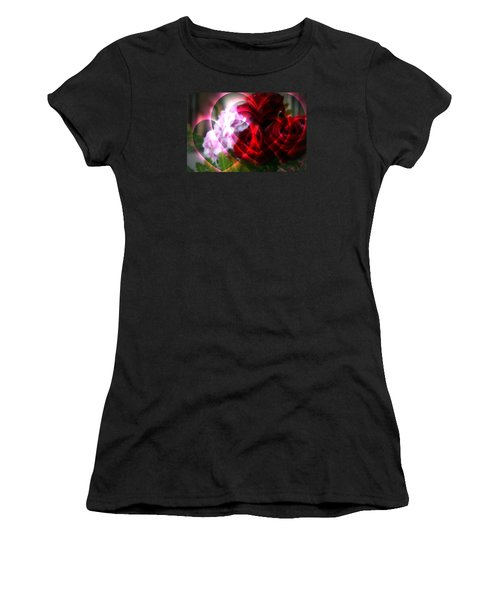 Hearts A Fire Women's T-Shirt (Athletic Fit)