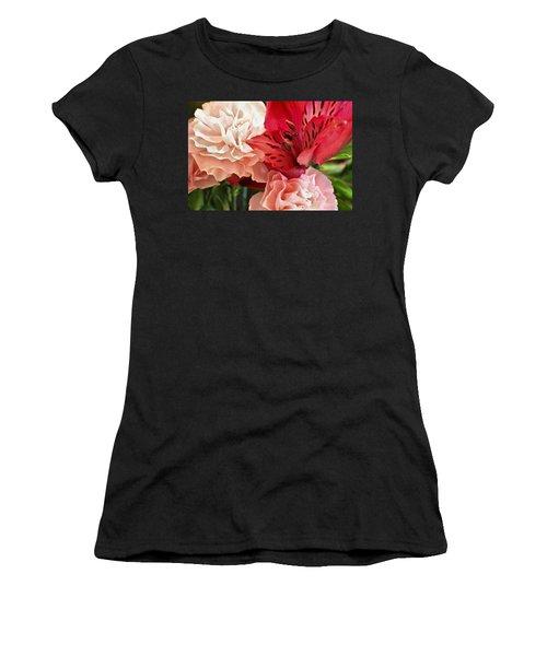 Heart's A Flutter Women's T-Shirt
