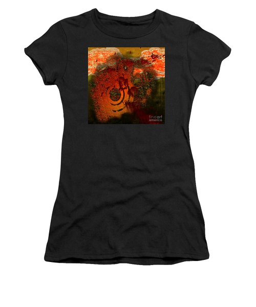 Women's T-Shirt (Athletic Fit) featuring the digital art Heat Of Battle by Clayton Bruster