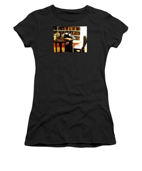 Hemingway's Studio Ernest Hemingway Key West Women's T-Shirt (Athletic Fit)