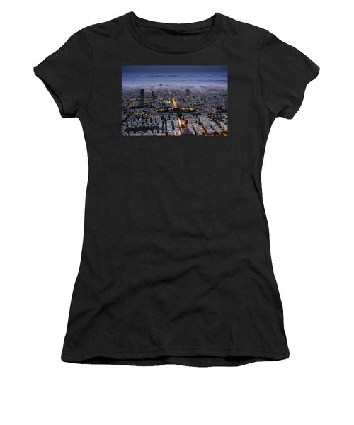 Here Comes The Fog  Women's T-Shirt