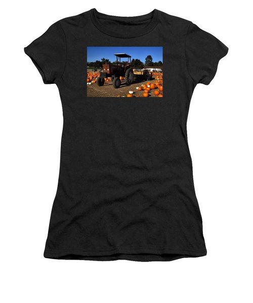 Women's T-Shirt (Junior Cut) featuring the photograph Heston 80-66 by Michael Gordon
