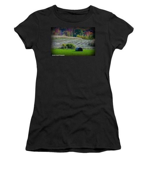 Hay Fall Women's T-Shirt (Athletic Fit)