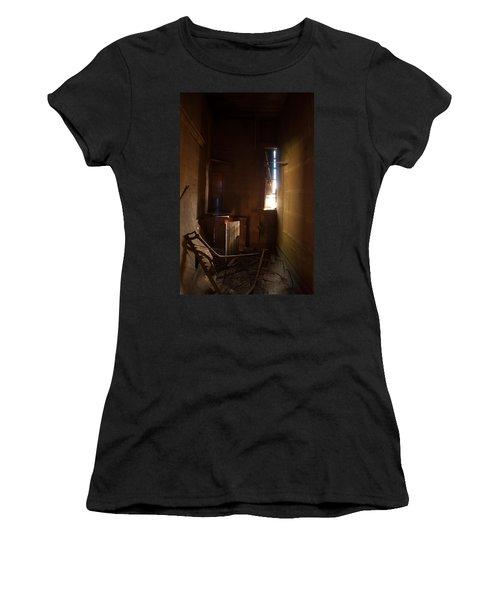 Women's T-Shirt (Junior Cut) featuring the photograph Hidden In Shadow by Fran Riley