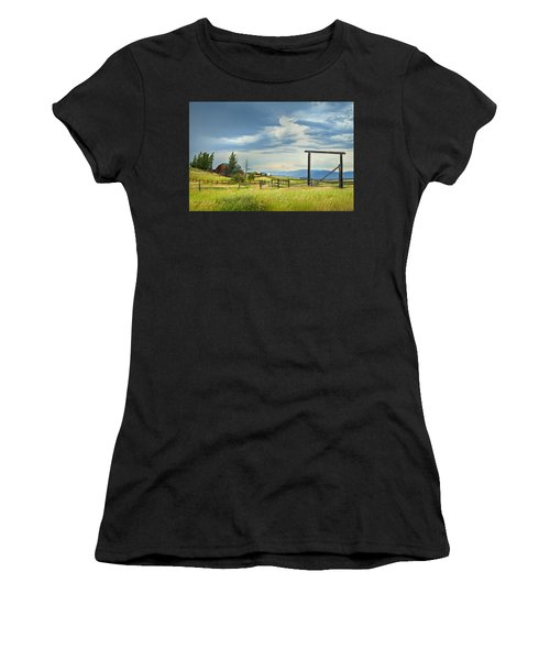 High Country Farm Women's T-Shirt (Athletic Fit)
