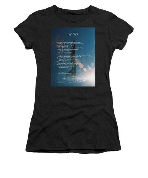High Flight Vertical At-38 Women's T-Shirt