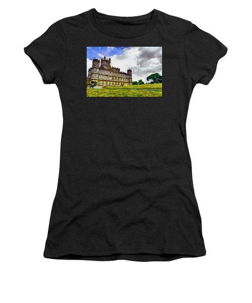 Highclere Castle Women's T-Shirt (Athletic Fit)