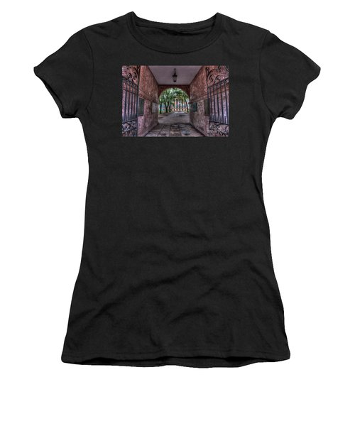 Higher Education Tunnel Women's T-Shirt
