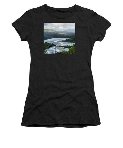 Highland Loch At Lochaber Women's T-Shirt (Athletic Fit)