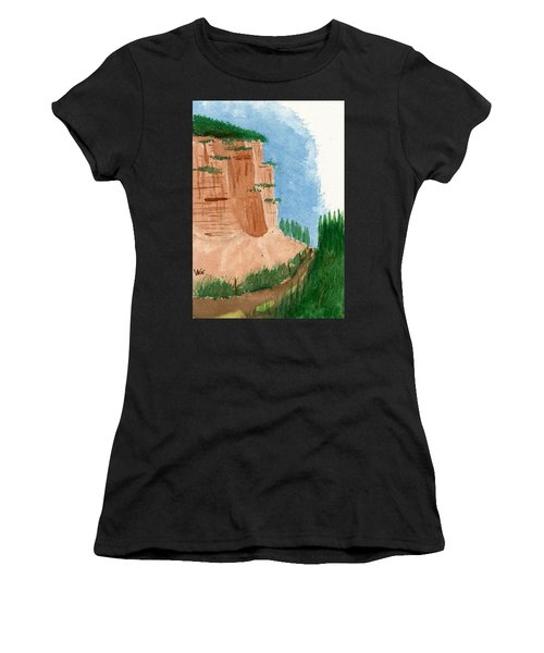 Highway Smile Women's T-Shirt (Athletic Fit)