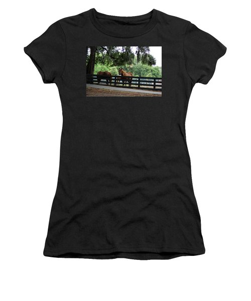 Hilton Head Island Beauty Women's T-Shirt (Junior Cut) by Kim Pate
