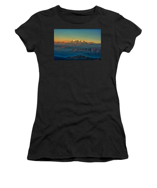 Himalaya Women's T-Shirt (Athletic Fit)