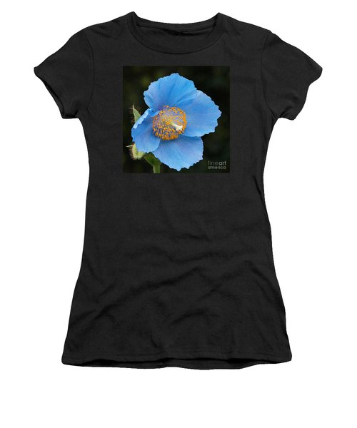 Himalayan Gift -- Meconopsis Poppy Women's T-Shirt (Athletic Fit)