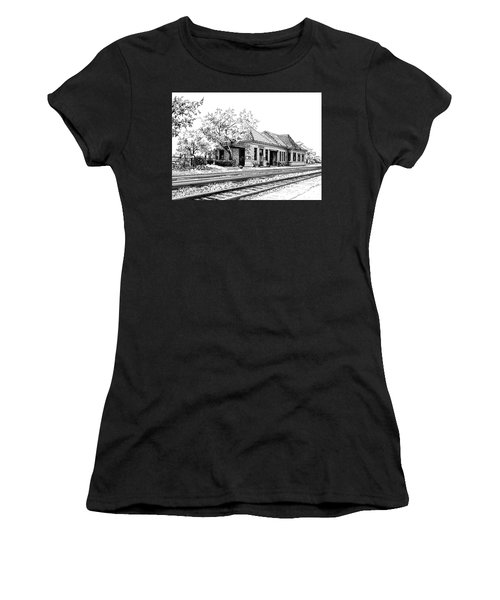 Hinsdale Train Station Women's T-Shirt