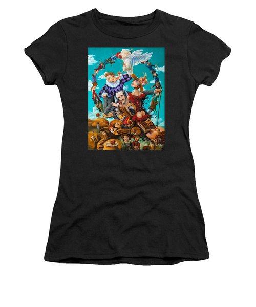 His Majesty Edgar Allan Poe Women's T-Shirt