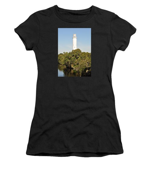 Historic Water Tower - Sulphur Springs Florida Women's T-Shirt (Athletic Fit)