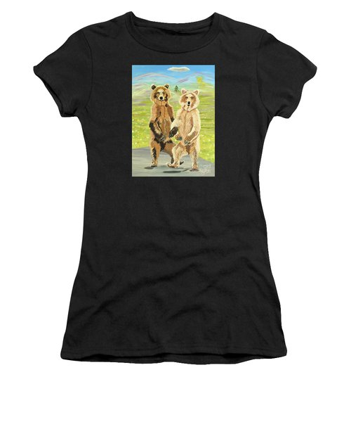 Hoedown On The Tundra Women's T-Shirt (Athletic Fit)