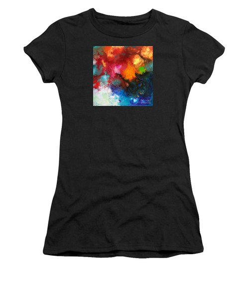 Holding The High Watch Canvas Three Women's T-Shirt (Athletic Fit)