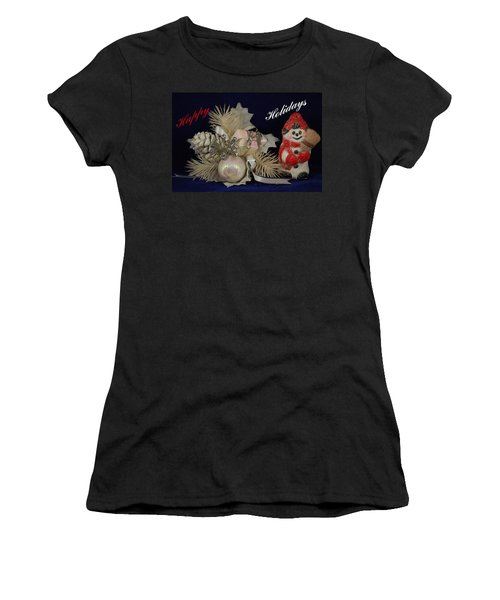 Holiday Greeting Women's T-Shirt (Athletic Fit)