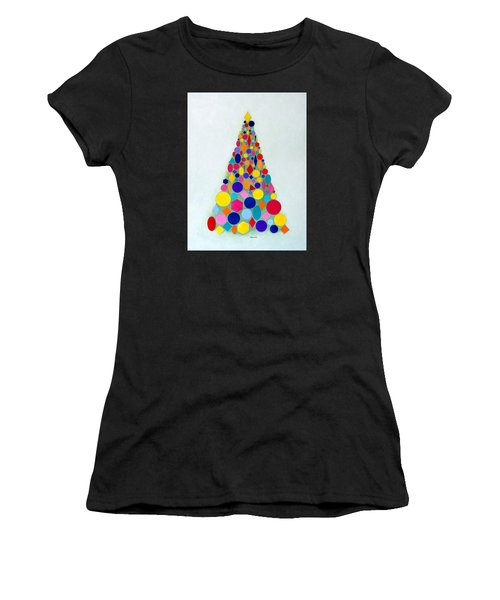 Holiday Tree #1 Women's T-Shirt (Athletic Fit)