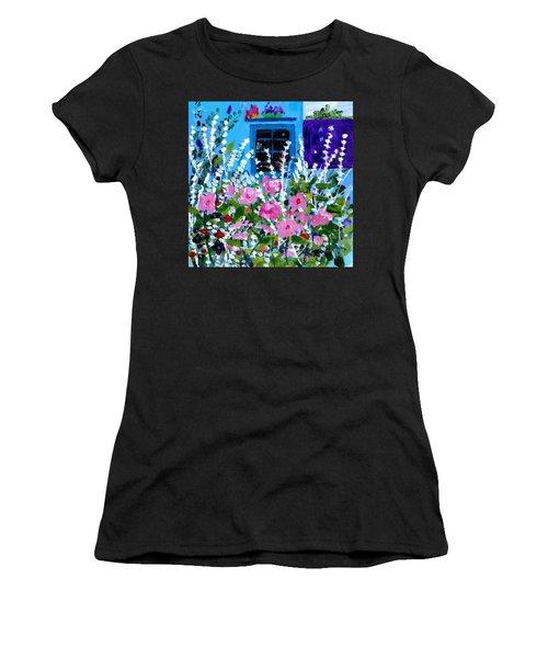 Hollyhock Alley  Women's T-Shirt