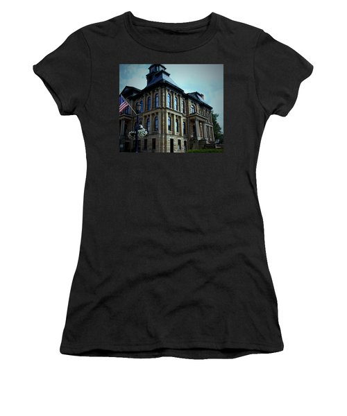 Holmes County Ohio Courthouse Women's T-Shirt (Athletic Fit)