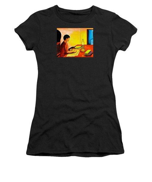 Homework Women's T-Shirt (Athletic Fit)