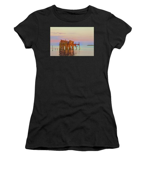 Honeymoon Cottage Women's T-Shirt (Athletic Fit)