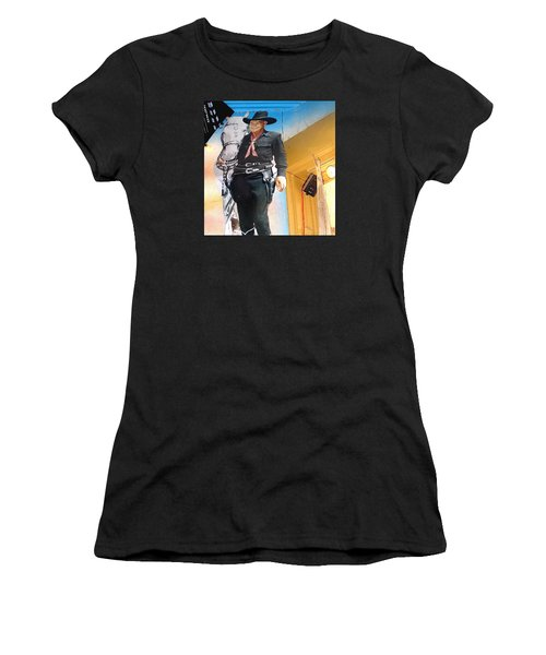 Hopalong Cassidy Cardboard Cut-out Tombstone Arizona 2004 Women's T-Shirt